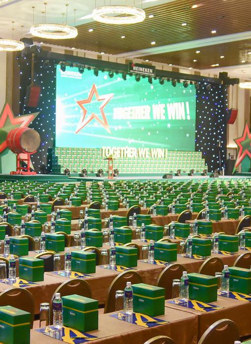 越南喜力国家经销商会议
