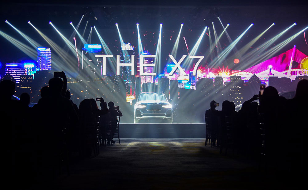 BMW X7 CAR LAUNCHING EVENT AT ARIYANA CONVENTION CENTRE DANANG