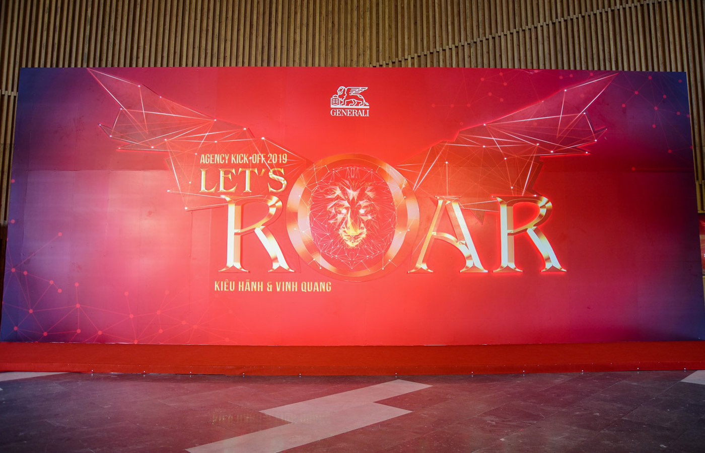 GENERALI VIETNAM (DANANG BRANCH): LET'S ROAR – AGENCY KICK-OFF 2019