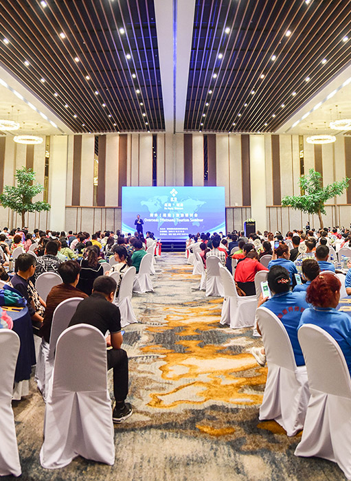 SEMINAR FOR 1,000 GUESTS AT ARIYANA GRAND BALLROOM
