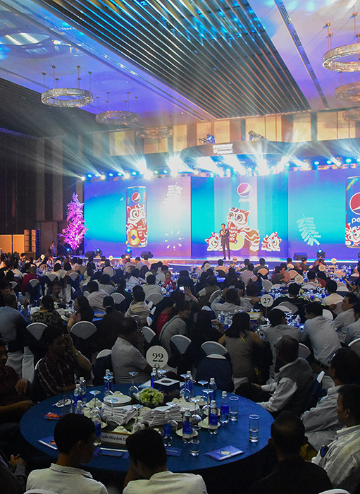SUNTORY PEPSICO VIETNAM'S DEALER CONFERENCE FOR LUNAR NEW YEAR 2020