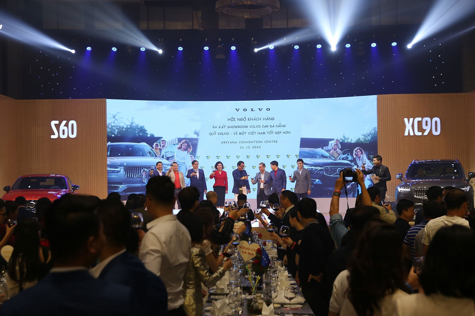 VOLVO CUSTOMER'S CONFERENCE – LAUNCH SHOWROOM VOLVO DA NANG AND FUND – FOR A BETTER VIETNAM