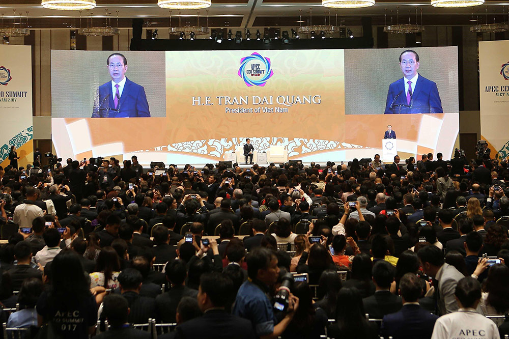 President Quang opens APEC CEO Summit in Danang