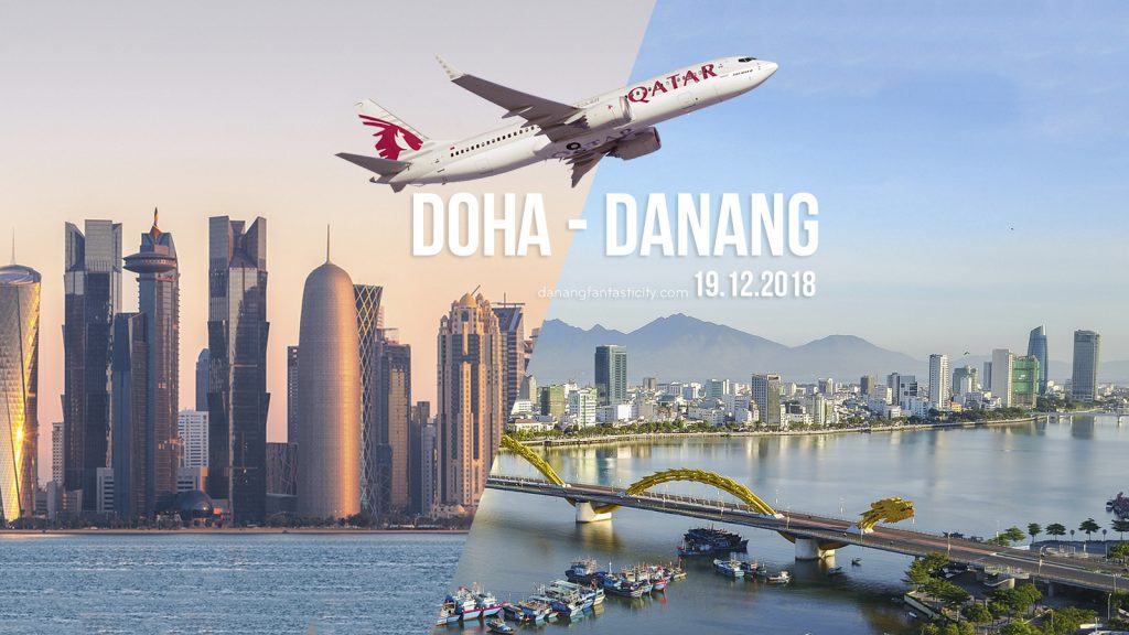 Qatar Airways to Launch Direct Flights to Da Nang, Vietnam from 19 December 2018
