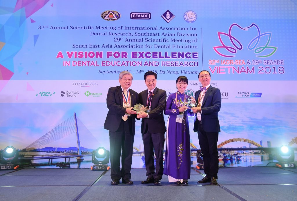 "... meeting of the South East Asia association for Dental Education (29th  SEAADE) on the theme ""A vision for excellence in dental education and  research""."