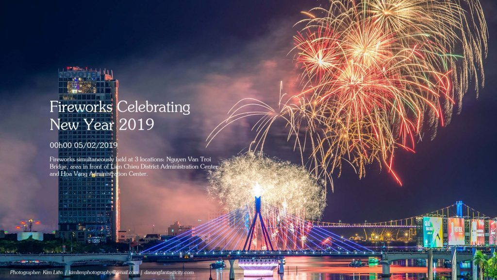 FIREWORKS CELEBRATING NEW YEAR 2019 – YEAR OF THE EARTH PIG