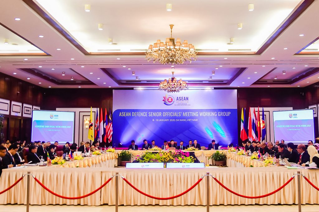 Asean Defence Senior Officials' Meeting Working Group (ADSOM WG) Meetings At Furama Resort Danang